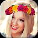 Download Flower Crown Selfie Camera 1.2 APK