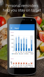 screenshot of Food Diary version Varies with device