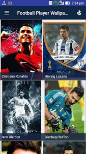 Download Football Players Wallpaper 1.0.7 APK
