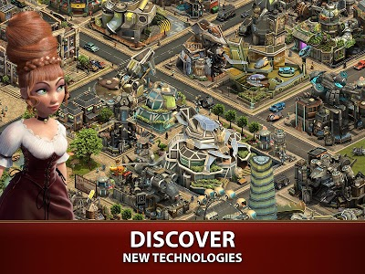 screenshot of Forge of Empires version 1.142.4