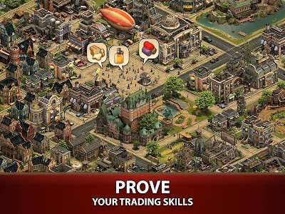 screenshot of Forge of Empires version 1.82.0