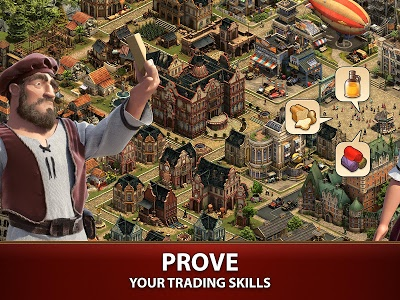 screenshot of Forge of Empires version 1.96.0