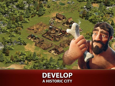 screenshot of Forge of Empires version 1.106.1