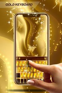 Download Free 2018 Gold keyboard 1.288.18.12 APK