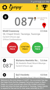 Download Gaspy - NZ Fuel Prices 1.8.1 APK