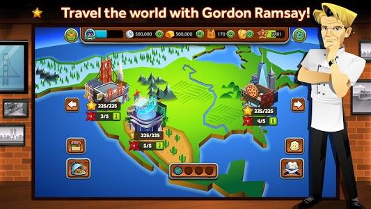 screenshot of GORDON RAMSAY DASH version 1.0.14