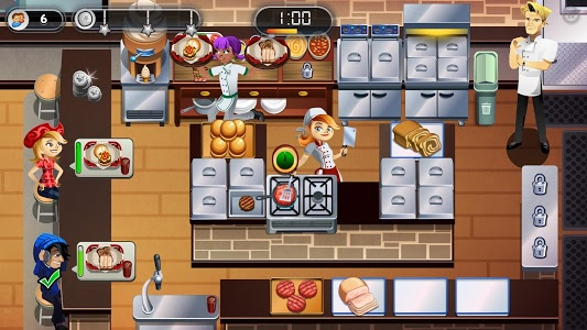 screenshot of RESTAURANT DASH: GORDON RAMSAY version 2.7.3