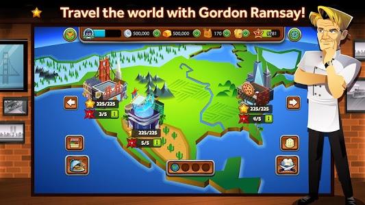 screenshot of GORDON RAMSAY DASH version 1.1.6