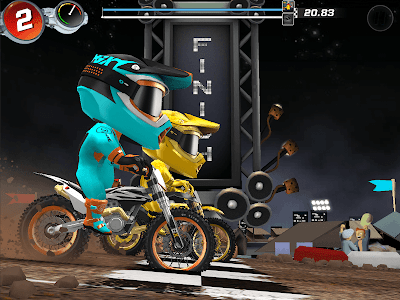 screenshot of GX Racing version 1.0.101