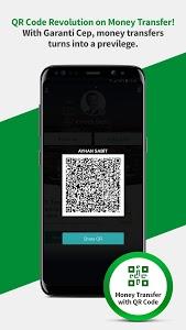 screenshot of Garanti Mobile Banking version Varies with device