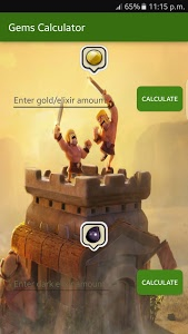 Download Gems sheet for Clash of Clans 3.0.0.6 APK