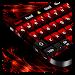 Download Glitter Red Keyboard 10001002 APK