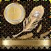 Download Golden feather diamond theme 1.1.5 APK