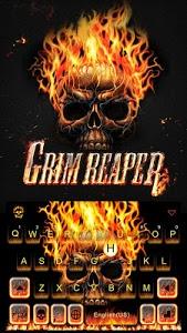 Download Grim Skull Emoji Keyboard 23.0 APK
