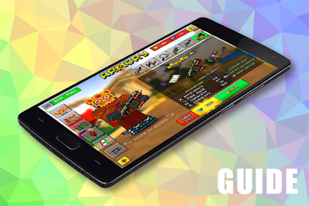 screenshot of Guide Pixel Gun 3D version 1.0