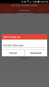Download HD Video Downloader 17.1 APK