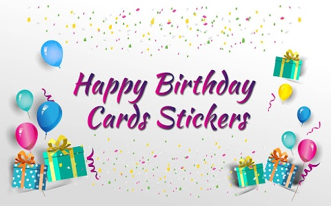 Download Happy Birthday Stickers Birthday Cards 20 Apk