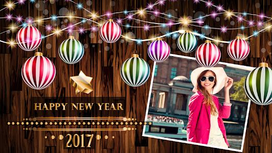 screenshot of Happy New Year Photo Frame version 1.4