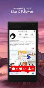 screenshot of HashtagsBeat - Boost Instagram Followers & Likes version 1.0.3