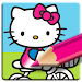 Download Hello Kitty Coloring Book - Cute Drawing Game 18.1 APK