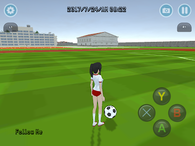 screenshot of High School Simulator 2017 version 1.0