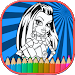 Download How to color Monster High kids game 1.2 APK
