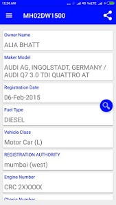 screenshot of How to find vehicle owner details version 20