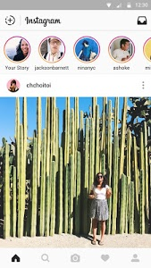 screenshot of Instagram version 9.8.0