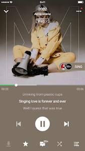 screenshot of JOOX Music version 5.0.2