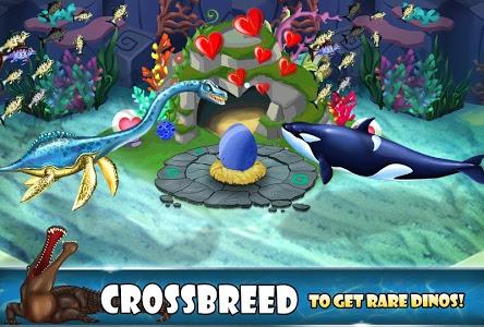 screenshot of Jurassic Dino Water World version 7.35