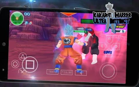 screenshot of Kakarot Warrior Ultra Instinct version 1.0