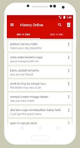 screenshot of Kamus Inggris version 3.6.76