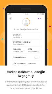 screenshot of Kariyer.net version 5.1.5