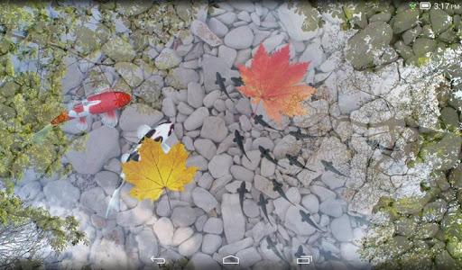 screenshot of Water Garden Live Wallpaper version 1.58