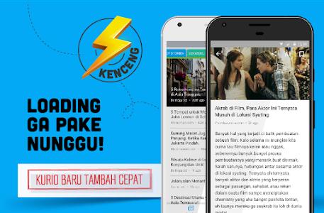screenshot of Kurio – Baca Berita Terbaru version 3.1.16