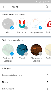 screenshot of Kurio – Baca Berita Terbaru version 3.2.3