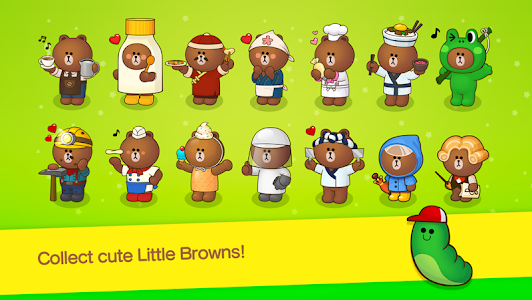 screenshot of LINE BROWN FARM version 2.4.2