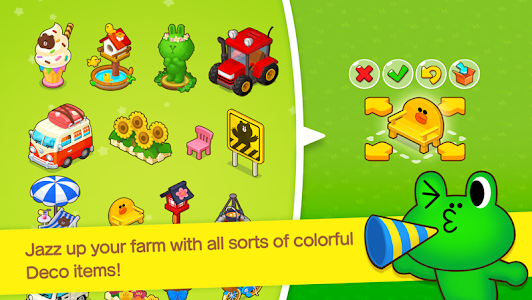 screenshot of LINE BROWN FARM version 1.3.5