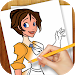 Download Learn to Draw Cartoon Princess 1.02 APK