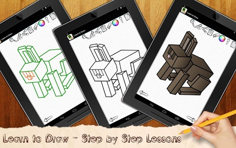 Download Learn to Draw Minecraft 3.02 APK