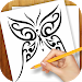 Download Learn to Draw Tattoo Designs 1.02 APK