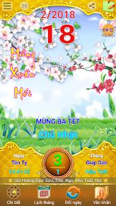 screenshot of Lich Van Nien - Lịch VN 2019 version 10.7