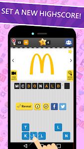 screenshot of Logo Game: Guess Brand Quiz version 4.2.5