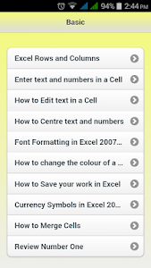 Download MS Excel Full Course 1.0.1 APK