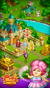 Download Magic City: fairy farm and fairytale country 1.43 APK