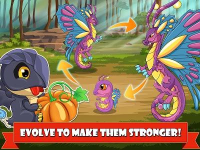 screenshot of Dragon Battle: Dragons fighting game version 9.34
