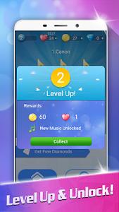 screenshot of Magic White Piano: Music Tiles version 1.27