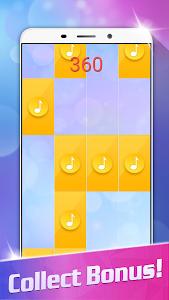 screenshot of Magic White Piano: Music Tiles version 1.48