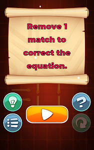 screenshot of Matches Puzzle Game version 1.16