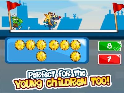 screenshot of Basic Math Games for kids: Addition Subtraction version 8.32